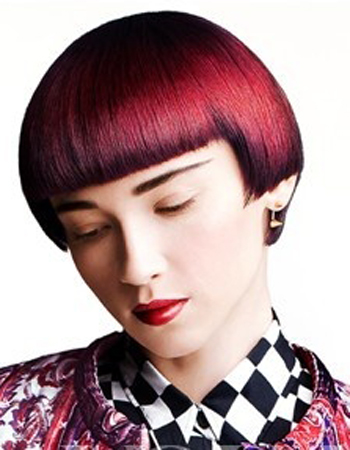阶梯状发型分享展示图片