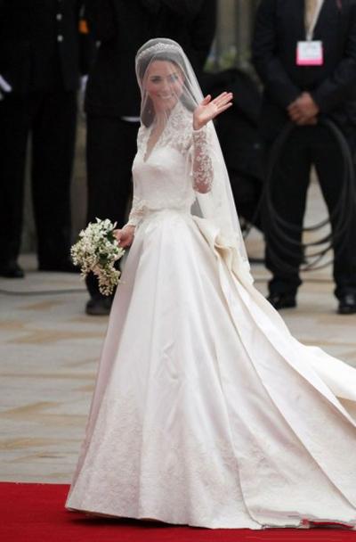 高贵多贵 凯特王妃礼服账单