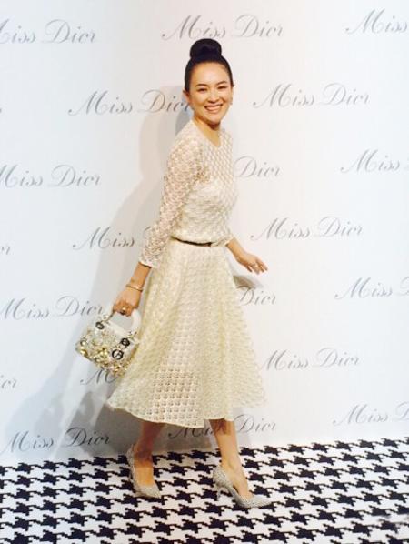 Miss Dior展开幕 女神热捧