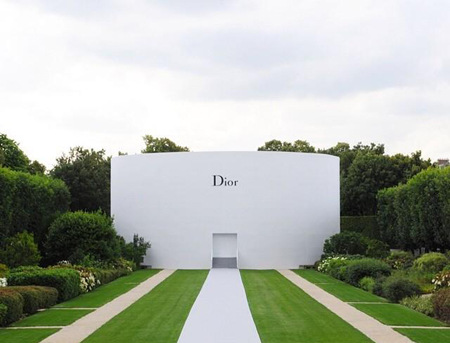 Dior秋冬高定 大咖蜂拥云集
