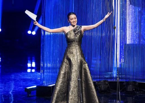 piaget伯爵品牌代言人巩俐出席第17届上海国际电影节颁奖典礼图片