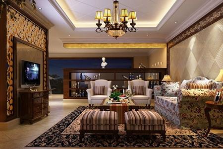 欧式隔断让客厅变得高大上-轻奢网