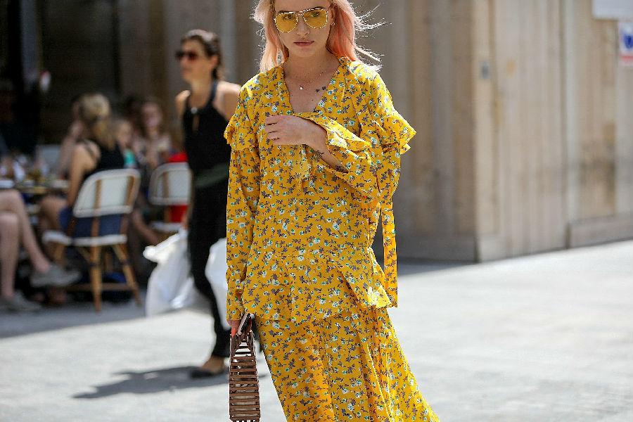 巴黎的时装周——街拍风格