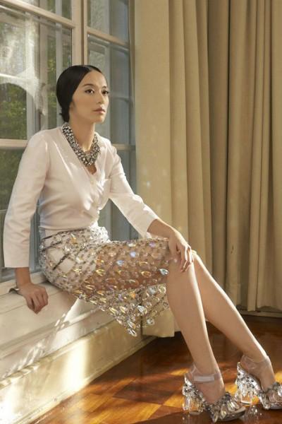 复古水晶裙装