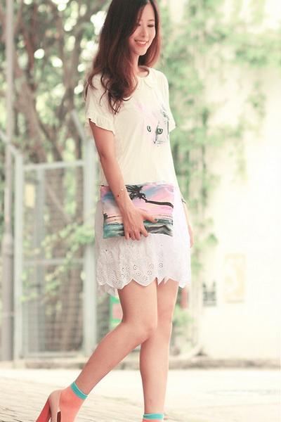 夏季简便时尚混搭